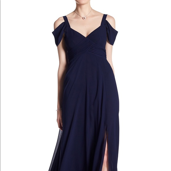 Laundry By Shelli Segal Dresses Laundry Navy Blue Gown Bridesmaid